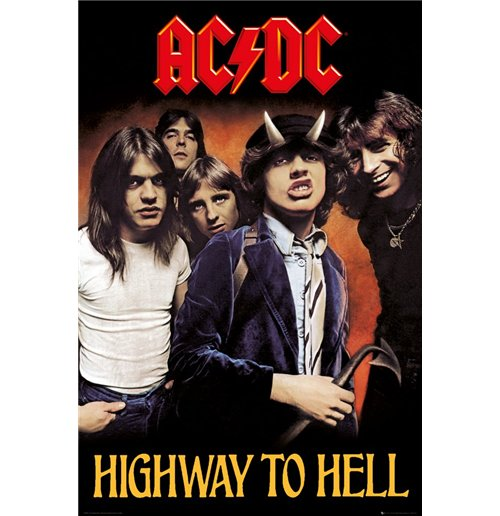 Image of Ac/Dc - Highway To Hell (Poster Maxi 61x91,5 Cm)