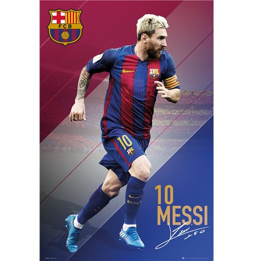 Image of Barcelona - Messi 16/17 (Poster Maxi 61x91,5 Cm)