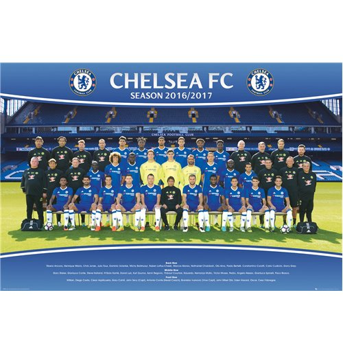 Image of Chelsea - Team Photo 16/17 (Poster Maxi 61x91,5 Cm)