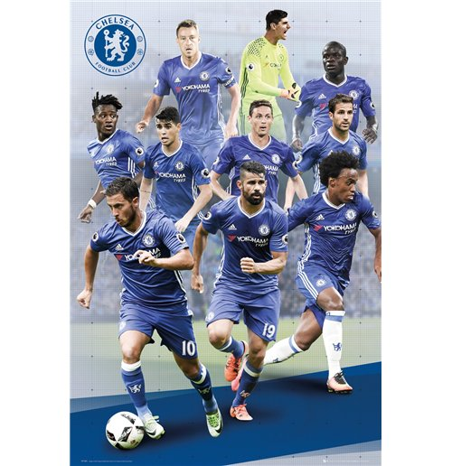 Image of Poster Chelsea - Players 16/17 -  61x91,5 Cm
