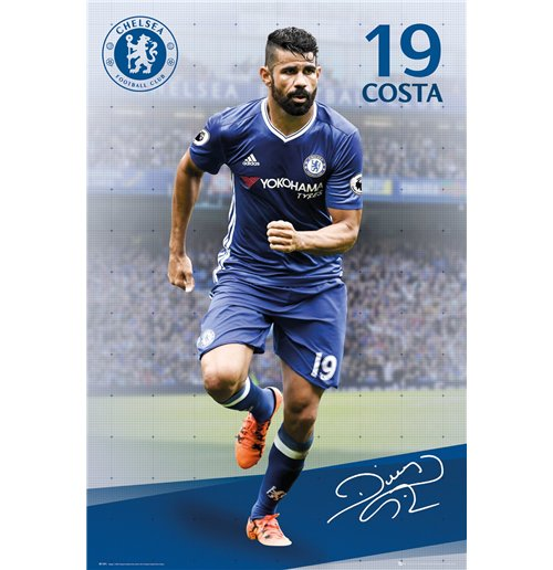 Image of Chelsea - Costa 16/17 (Poster Maxi 61x91,5 Cm)