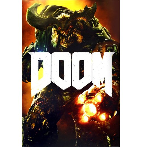 Image of Doom - Cyber Demon (Poster Maxi 61x91,5 Cm)
