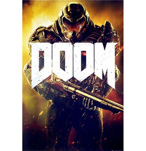 Image of Doom - Marine (Poster Maxi 61x91,5 Cm)