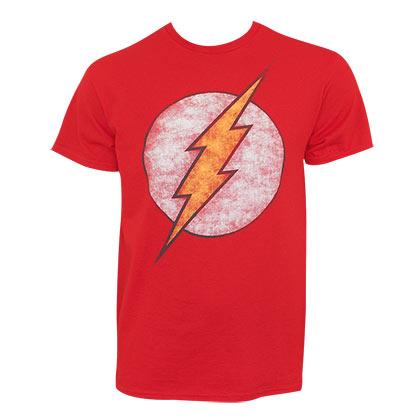t-shirt-flash-distressed-logo