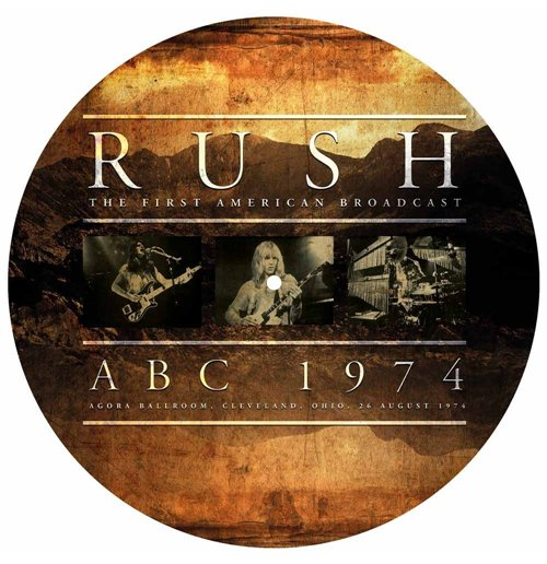Image of Vinile Rush - Abc 1974 (Picture Disc)