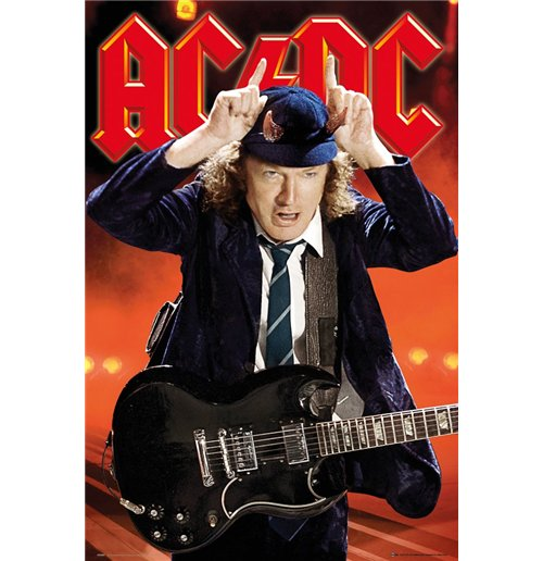 Image of Ac/Dc - Live (Poster Maxi 61x91,5 Cm)