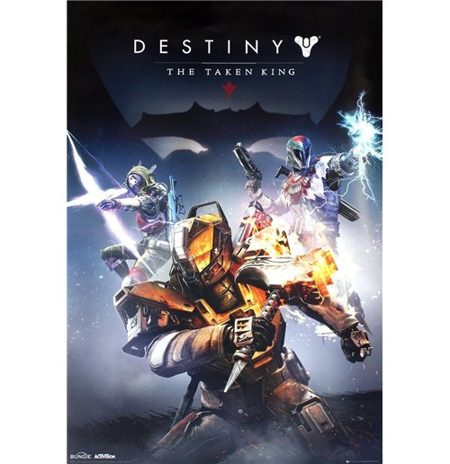Image of Poster Destiny - Take King - 61x91,5 Cm