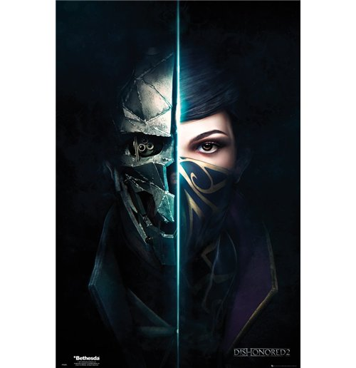 Image of Dishonored 2 - Faces (Poster Maxi 61x91,5 Cm)