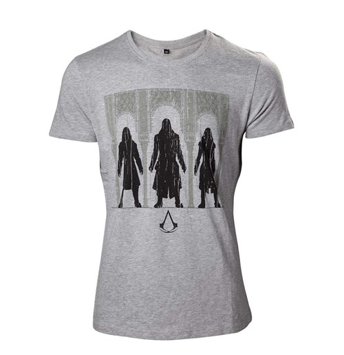 Image of ASSASSIN'S Creed - Group Of Assassin Black (T-SHIRT Unisex )