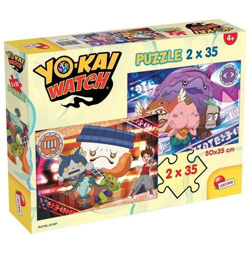 Image of Yo-Kai Watch - Puzzle 2x35 Pz - World Of Yo-Kai