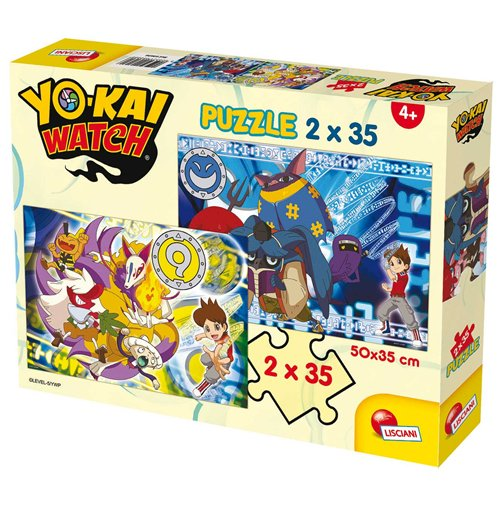 Image of Yo-Kai Watch - Puzzle 2x35 Pz - Protect The Seals