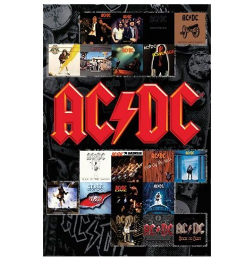 Image of Ac/Dc - Covers (Poster Maxi 61x91,5 Cm)