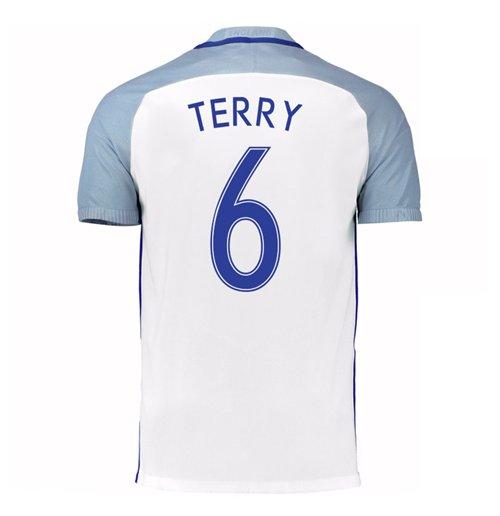 Image of Maglia Inghilterra calcio 2016-2017 Home (Terry 6)