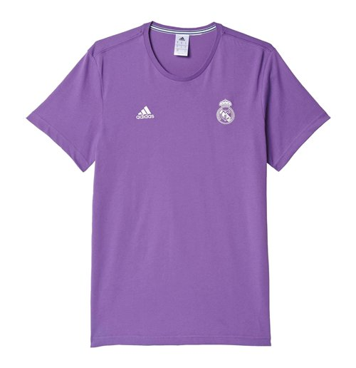 Image of T-shirt Real Madrid 2016/17 Adidas 3S (Viola)