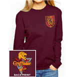 sweatshirt-harry-potter-house-gryffindor-women-fitted-crewneck-in-rot