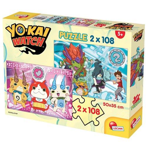 Image of Yo-Kai Watch - Puzzle 2x108 Pz - Yo-Kai Are Real