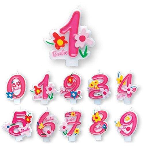 Image of Barbie - Candelina Numero 8