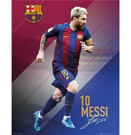Image of Barcelona - Messi 16/17 (Poster Mini 40x50 Cm)