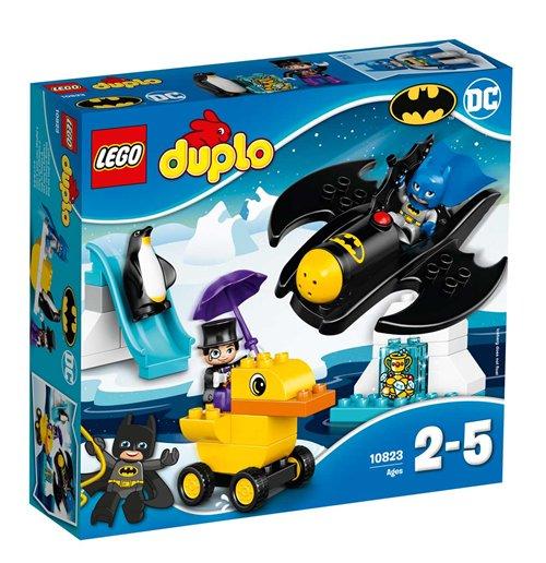 Image of Lego 10823 - Duplo - Batman - Avventura Sul Bat-Aereo