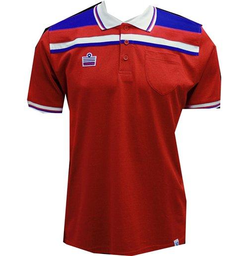 Image of Polo Inghilterra calcio (Rosso)