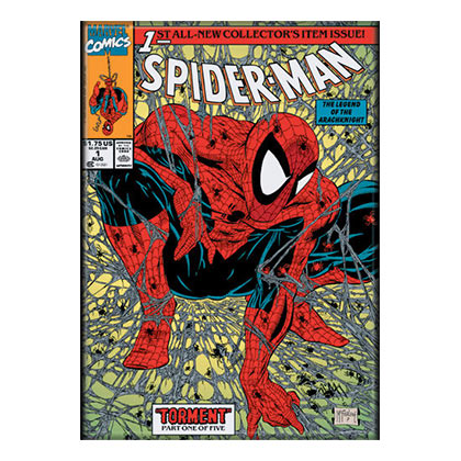magnet-spiderman