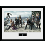 kunstdruck-vikings-beach