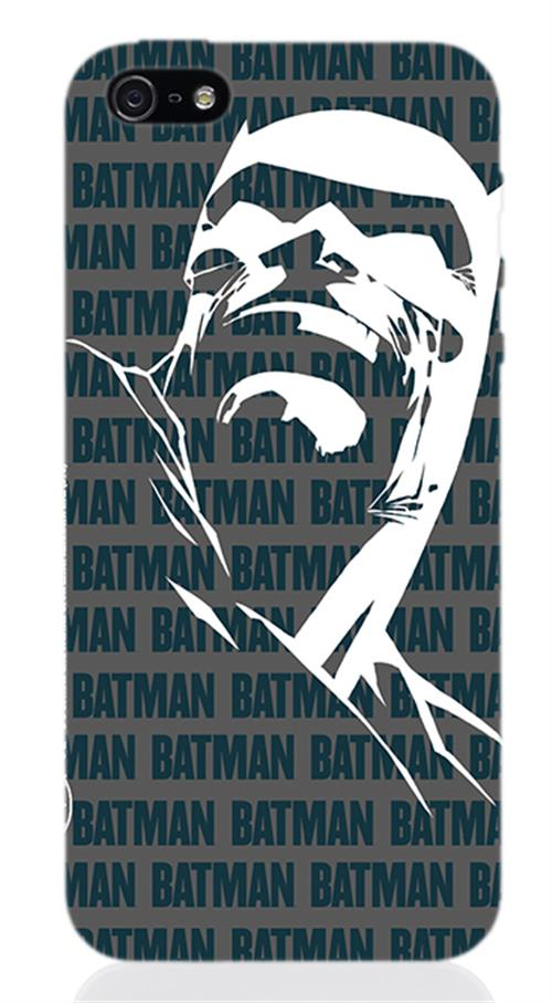 Image of Cover Iphone 5 Batman Miller Dark Knight Face Opaca