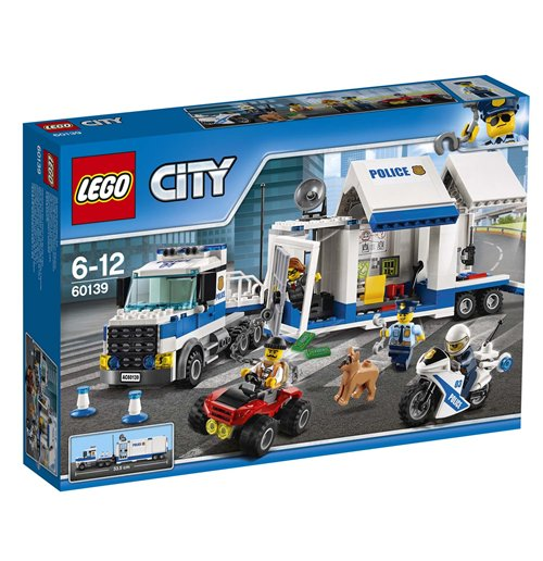 Image of Lego 60139 - City - Polizia - Centro Di Comando Mobile