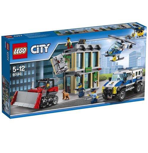Image of Lego 60140 - City - Polizia - Rapina Con Il Bulldozer