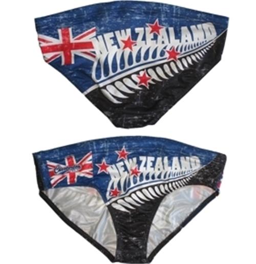 Image of All Blacks Nuova Zelanda Slip Mare BLU-NERO