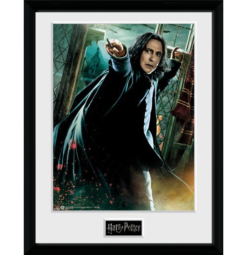 Harry Potter - Snape Wand (Stampa in Cornice...