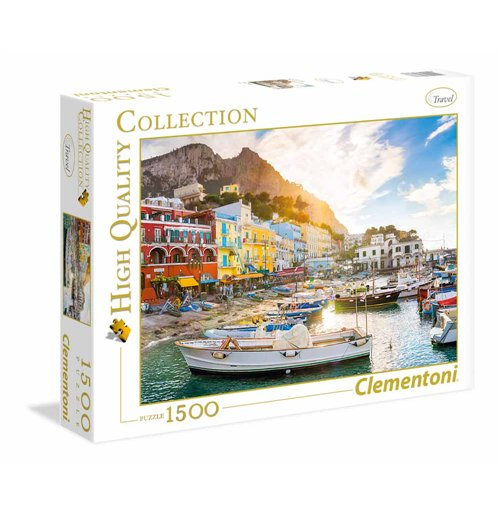 Image of Puzzle 1500 Pz - High Quality Collection - Capri