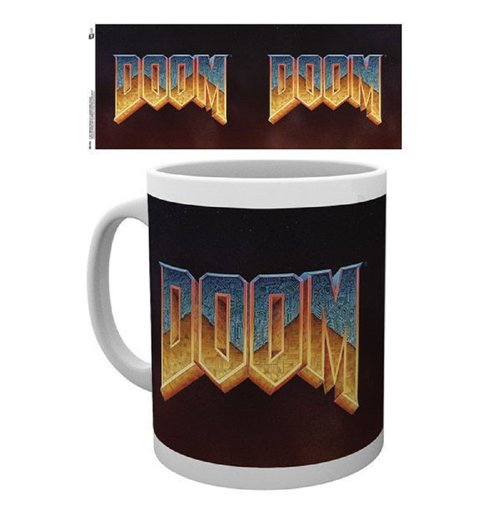 Image of Doom - Classic Logo (Tazza)