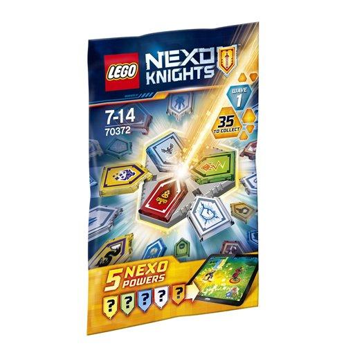 Image of Lego 70372 - Nexo Knights - Ultimate Knights - Bustina Combo Nexo Powers 1
