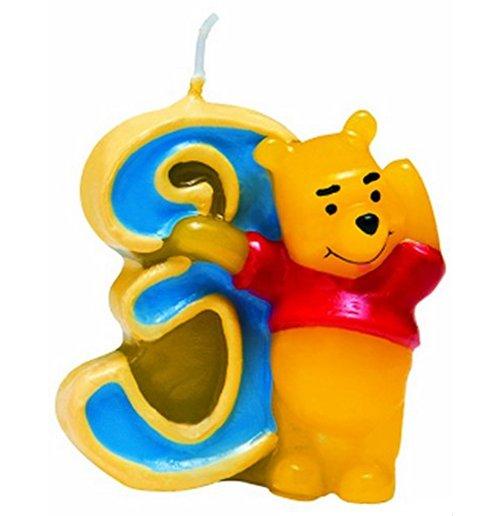 Image of Winnie The Pooh - Candelina Numero 3