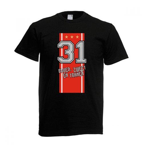 Image of T-shirt Ajax (Nero)