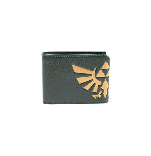 Image of Zelda - Hyrule Crest Fold Over Wallet (Portafogli)