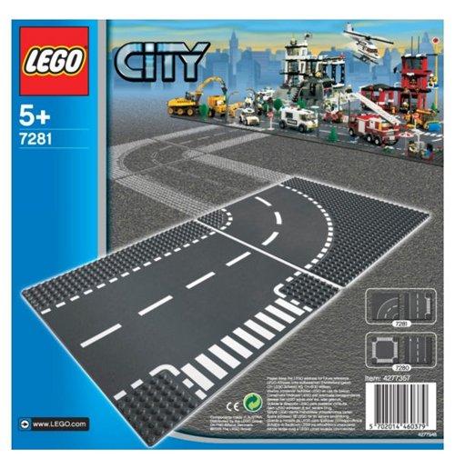 Image of Lego 7281 - City - Incrocio A T E Curva