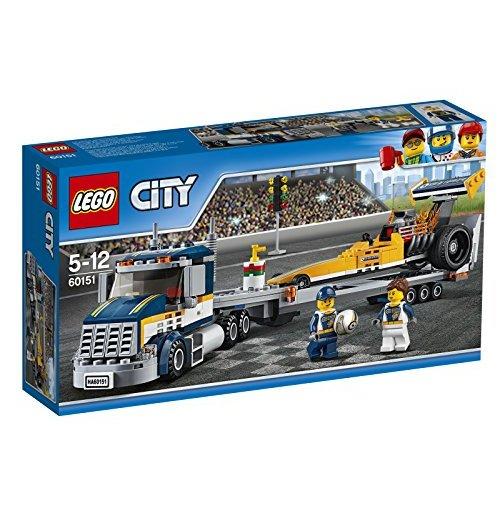 Image of Lego 60151 - City - Trasportatore Di Dragster