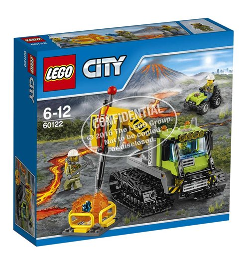 Image of Lego 60122 - City - Cingolato Vulcanico