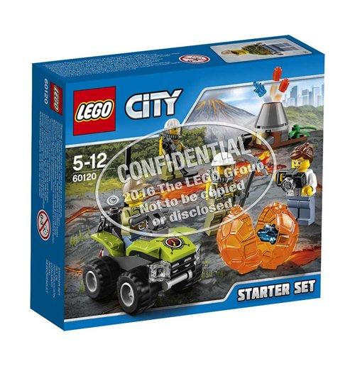 Image of Lego 60120 - City - Starter Set Vulcano