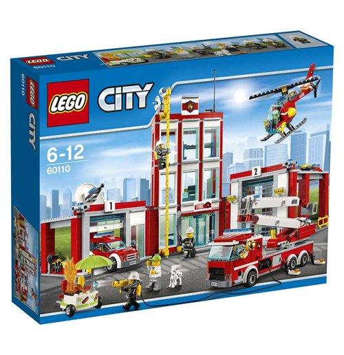 Image of Lego 60110 - City - Caserma Dei Pompieri