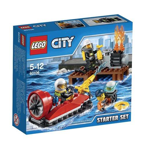Image of Lego 60106 - City - Starter Set Pompieri