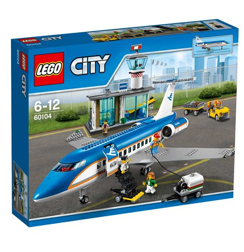 Image of Lego 60104 - City - Terminal Passeggeri