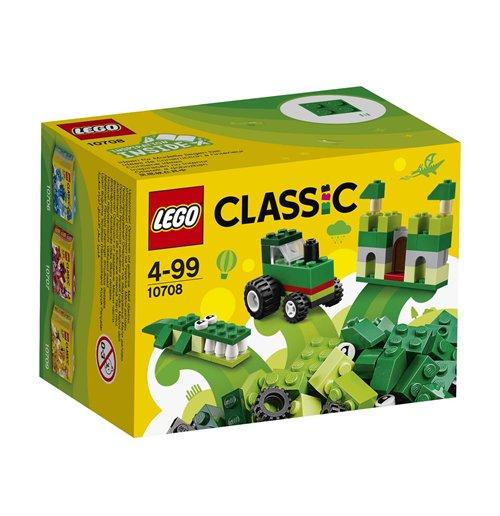 Image of Lego 10708 - Classic - Scatola Della Creativita' Verde