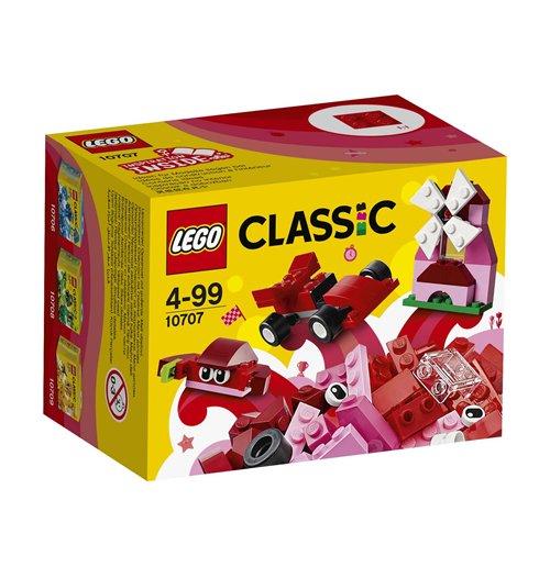 Image of Lego 10707 - Classic - Scatola Della Creativita' Rossa