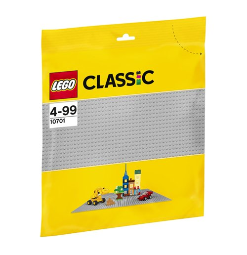 Image of Lego 10701 - Classic - Base Grigia