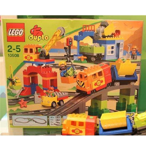 Image of Lego 10508 - Duplo - Set Treno Deluxe