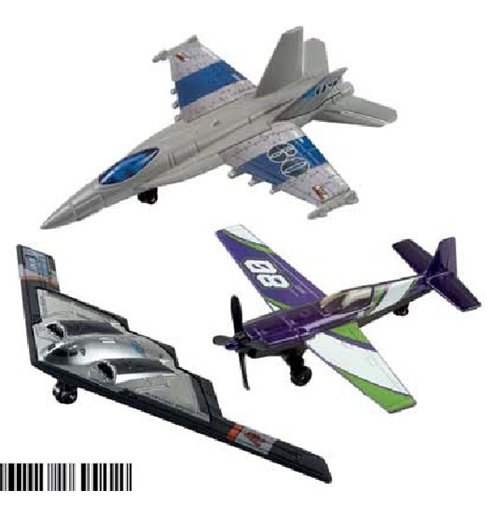 Image of Mattel BBL47 - Hot Wheels - Skybusters - Aereo (Assortimento)