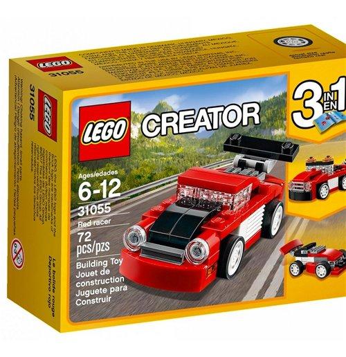 Image of Lego 31055 - Creator - Bolide Rosso